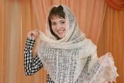 Оренбургский пуховый платок( натуральный 100%,  ручная работа)