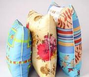 домашний текстиль .марля. подушки .спецодежда .ткани. перчатки .